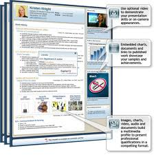 virtual resumes can aid job search